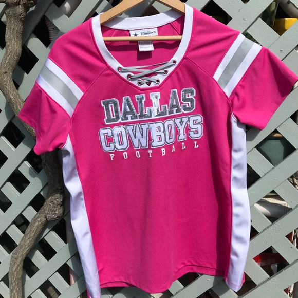 Hot Pink Dallas Cowboys Jersey